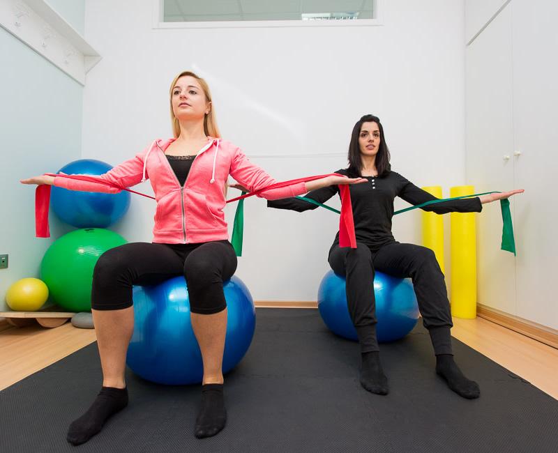 Esercizi posturali pilates