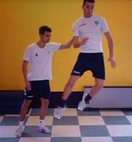 Esercizio 6 salto laterale