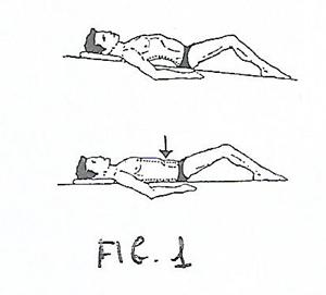 Esercizio colonna vertebrale