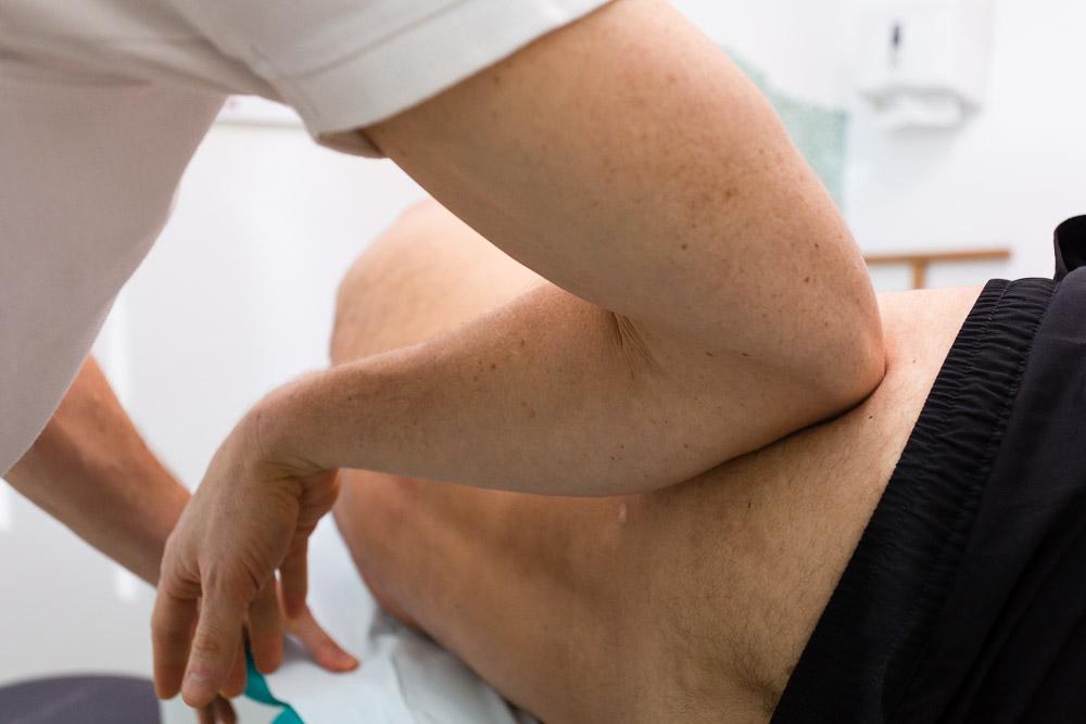 Massaggio fisioterapito