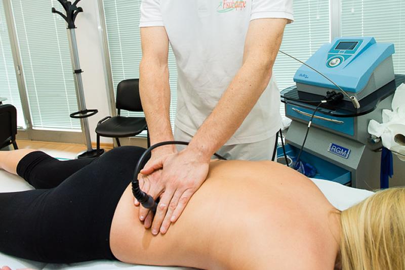 Trattamento dolore schiena con Tecarterapia