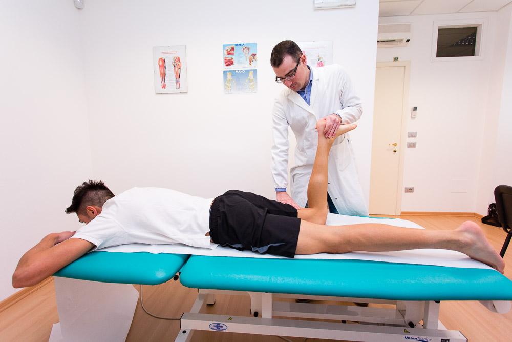 Trattamento traumi e lesioni muscolari